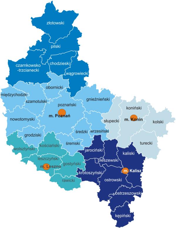 Wielkopolska Mapa