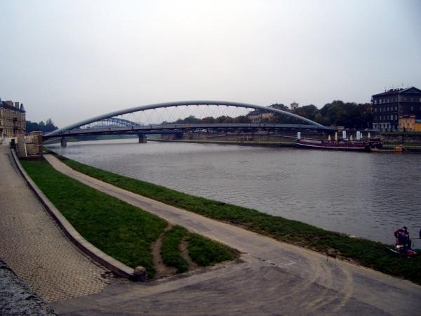 Kraków Kładka Bernatka
