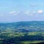 Beskid Wyspowy - widok z Mogielicy