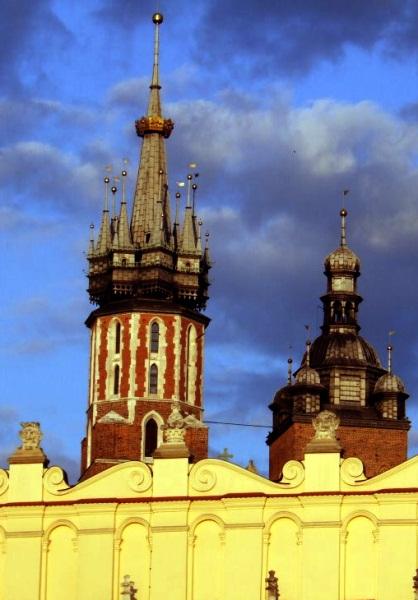 Kraków Wieża Mariacka