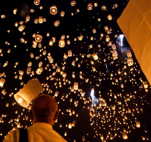 Wieczór lampionów 2011 w Polsce