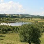Jeziorko wytopiskowe w Suwalskim Parku Krajobrazowym