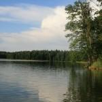Jezioro Hańcza na Mazurach