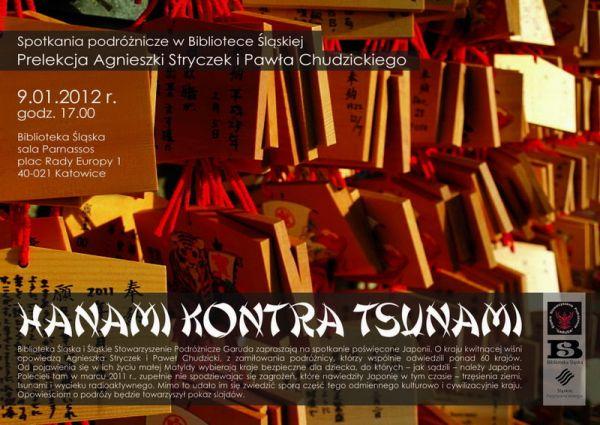 Hanami kontra tsunami