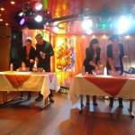 Impreza andrzejkowa na promie Skania - wróżby