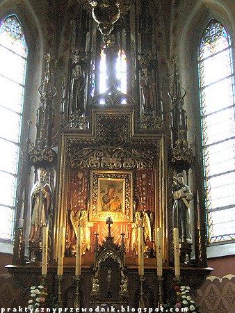 Ołtarz w kościele Świętego Wojciecha w Szczawnicy