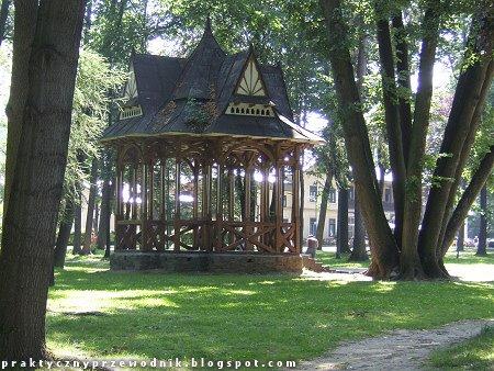 Park Dolny w Szczawnicy