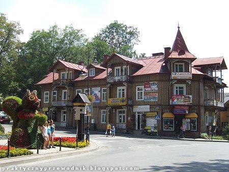 Ulica Szalaya w Szczawnicy
