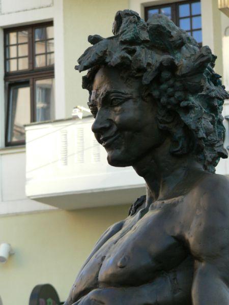 Pomnik Bachusa w Zielonej Górze