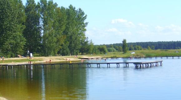Długi weekend jezioro