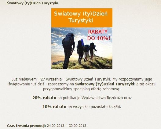Dzień Turystyki 2013