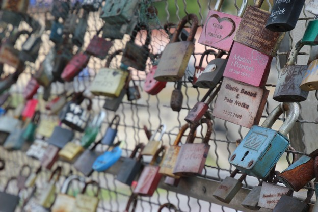 Kraków Most Miłości